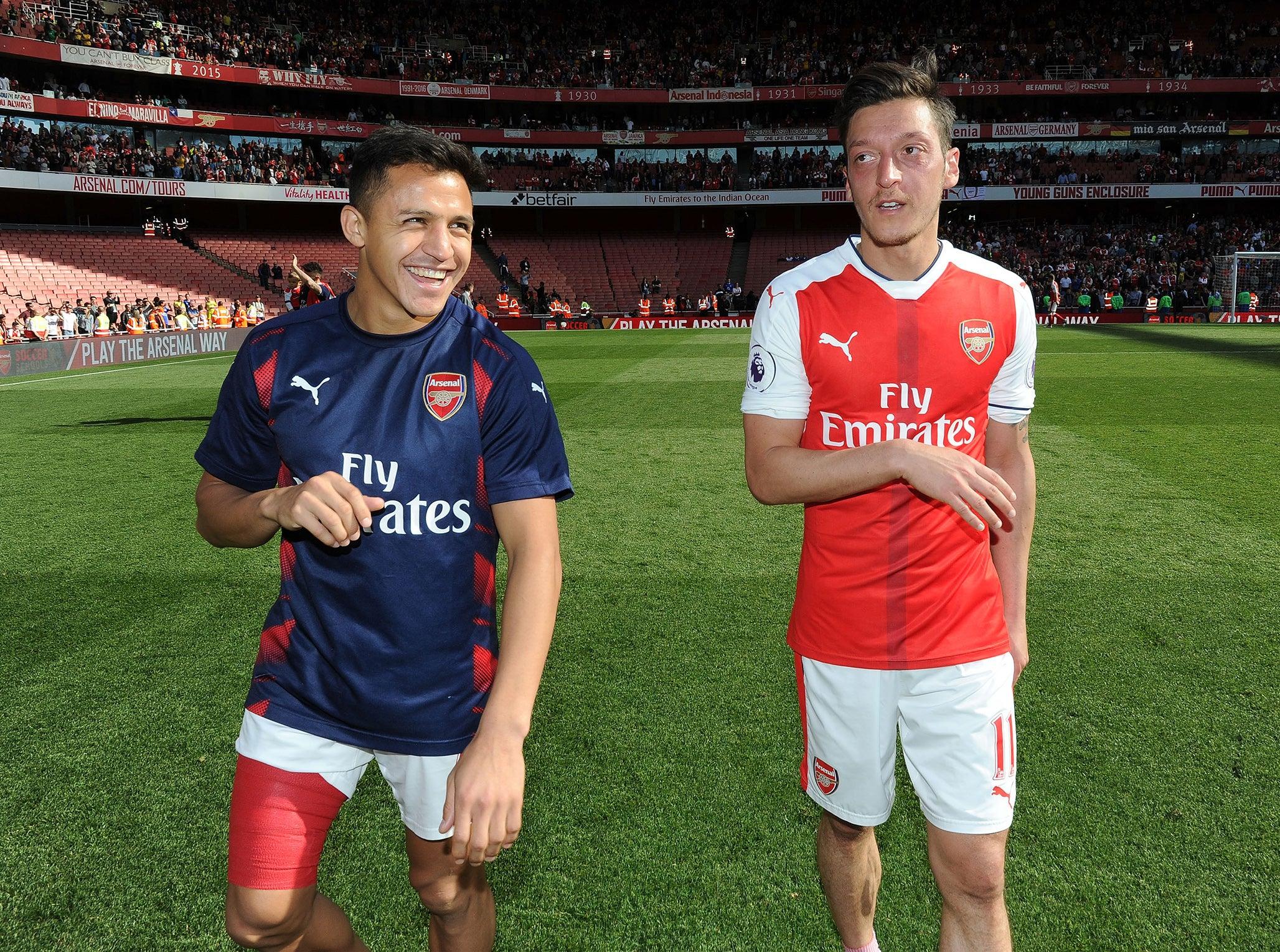 Alexis Sanchez and Mesut Ozil won't leave Arsenal this January transfer window, insists Nacho Monreal