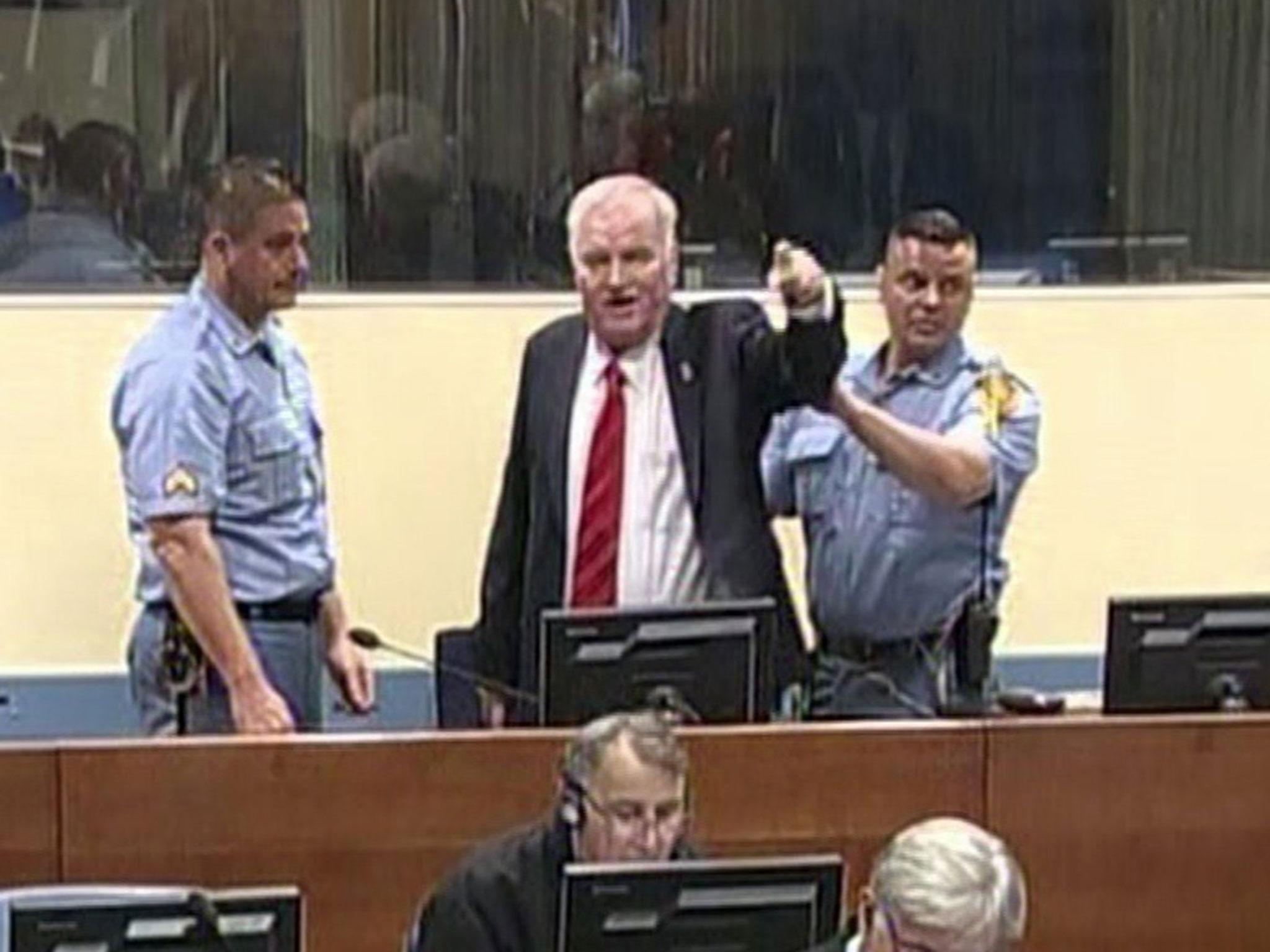 Image result for ratko mladic trial