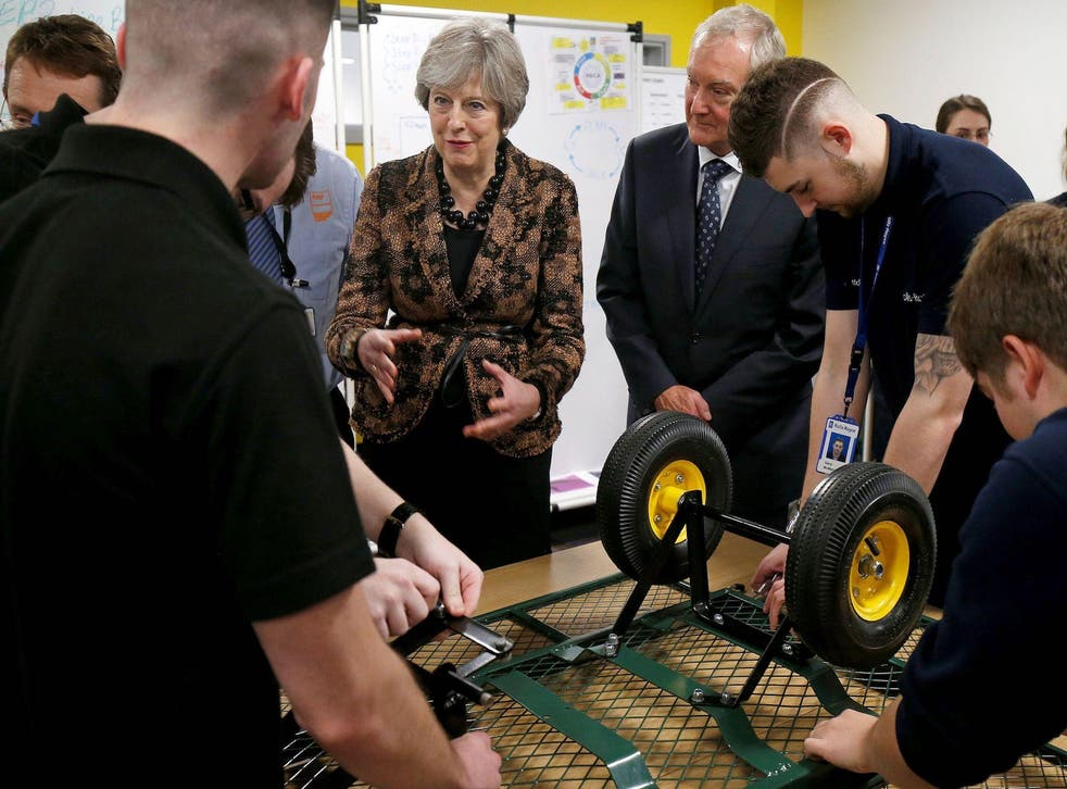 Theresa May is developing a 'hands on' approach to business concerns