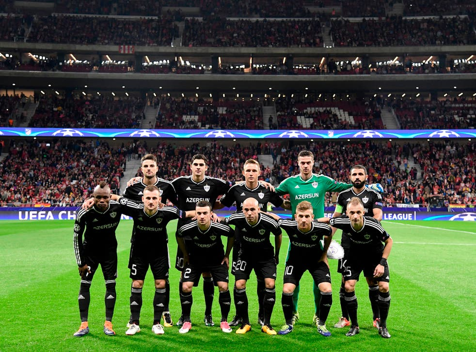 Qarabag host Chelsea this evening in their debut Champions League campaign