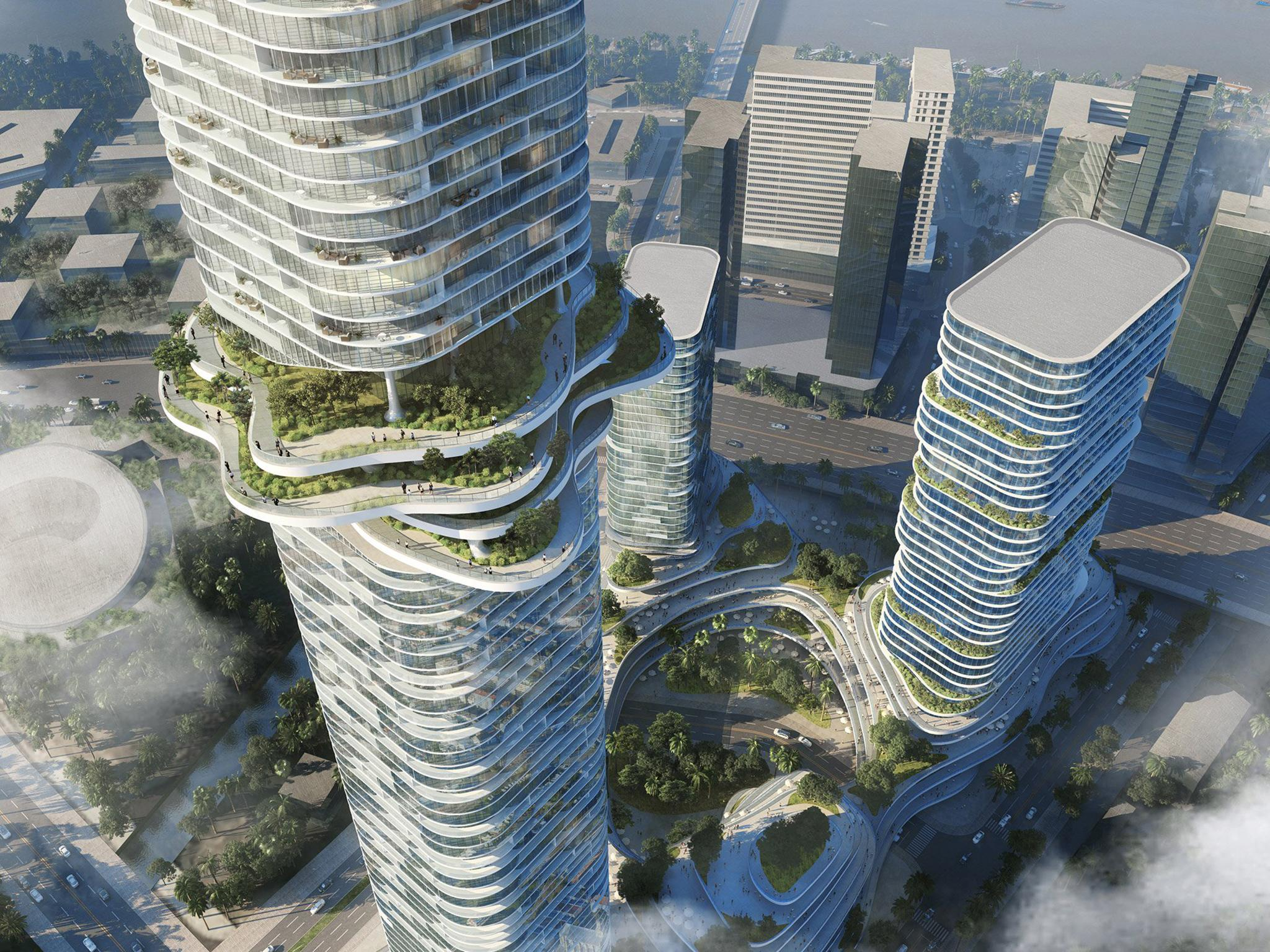 Asia's newest 'Garden' skyscraper – designed to look like rice terraces