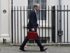 Philip Hammond's Budget in six charts