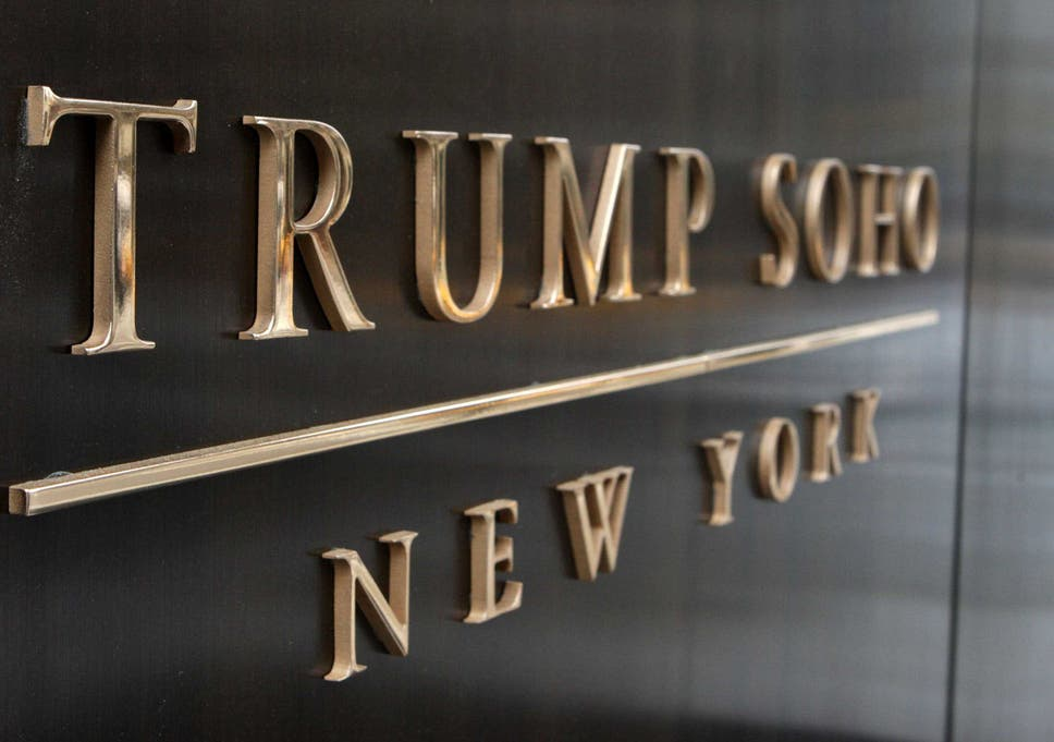 Donald Trump's name to be removed from Trump SoHo hotel amid