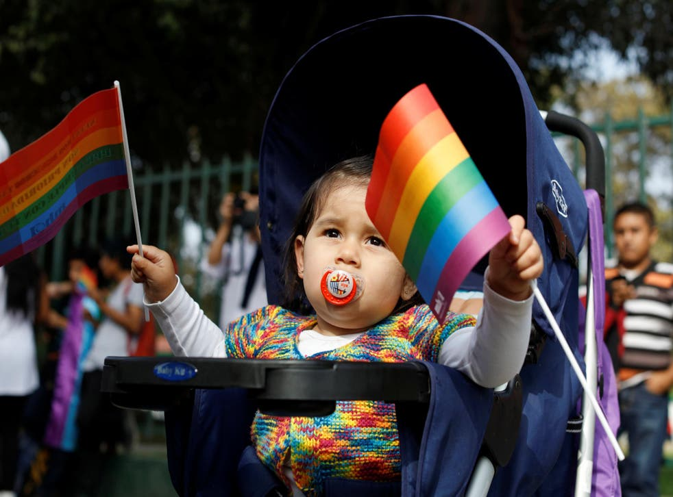 Public support for gay marriage