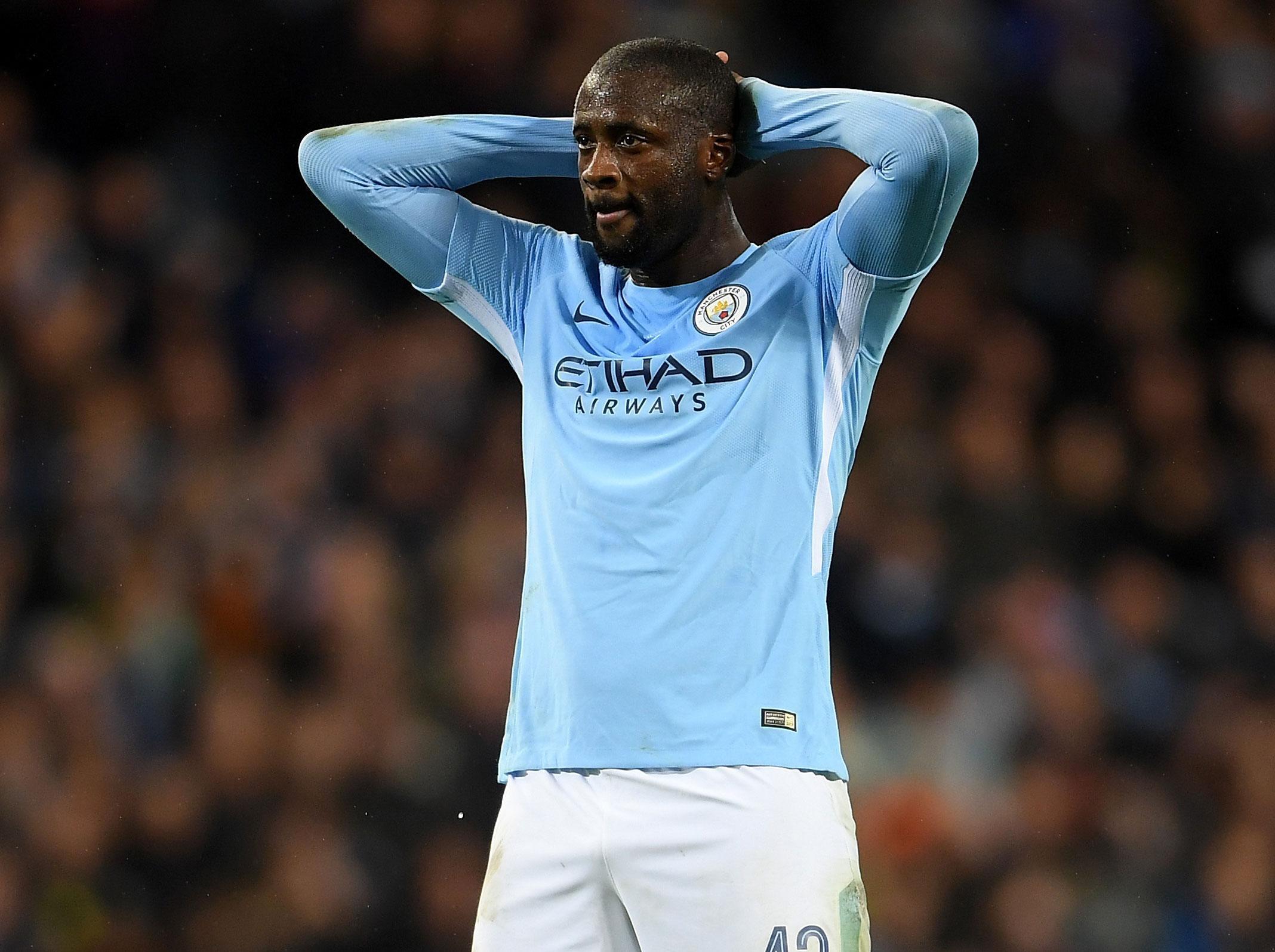 Yaya Toure content at Manchester City despite bit part role