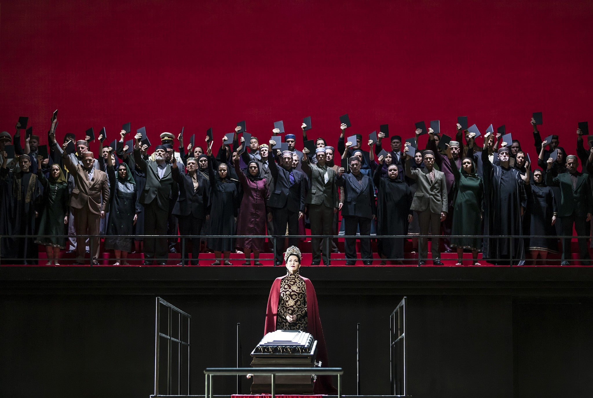 Semiramide, Royal Opera House, London, review: stunning music, but a problematic plot