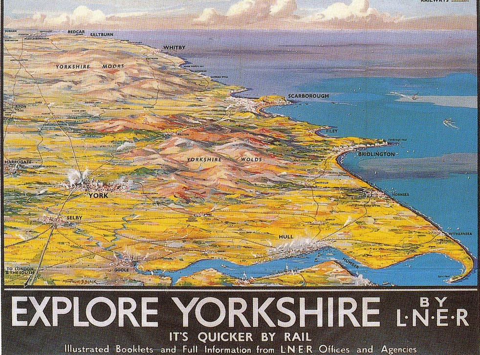 'All that is most enchanting about the geography of the British Isles is found in railway art'