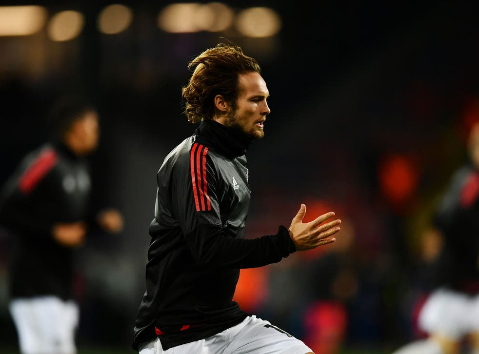 Daley Blind is looking for a reaction from his United teammates