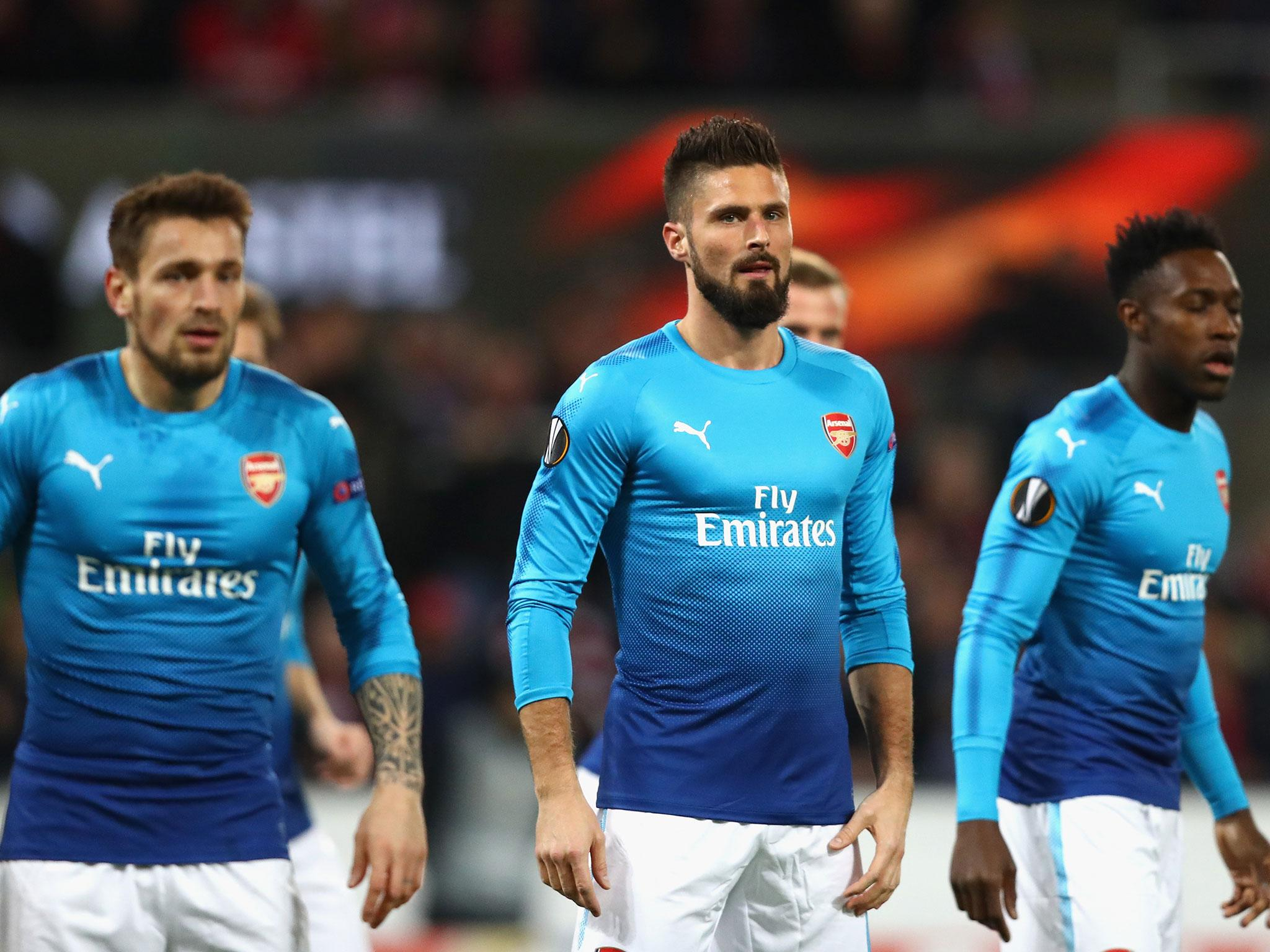 Arsenal qualify for Europa League last-32 despite defeat in Cologne