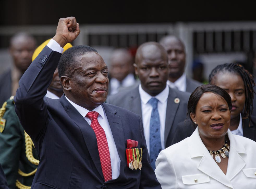 Mnangagwa took a hard line during the crushing of MDC supporters after the disputed presidential election in 2008