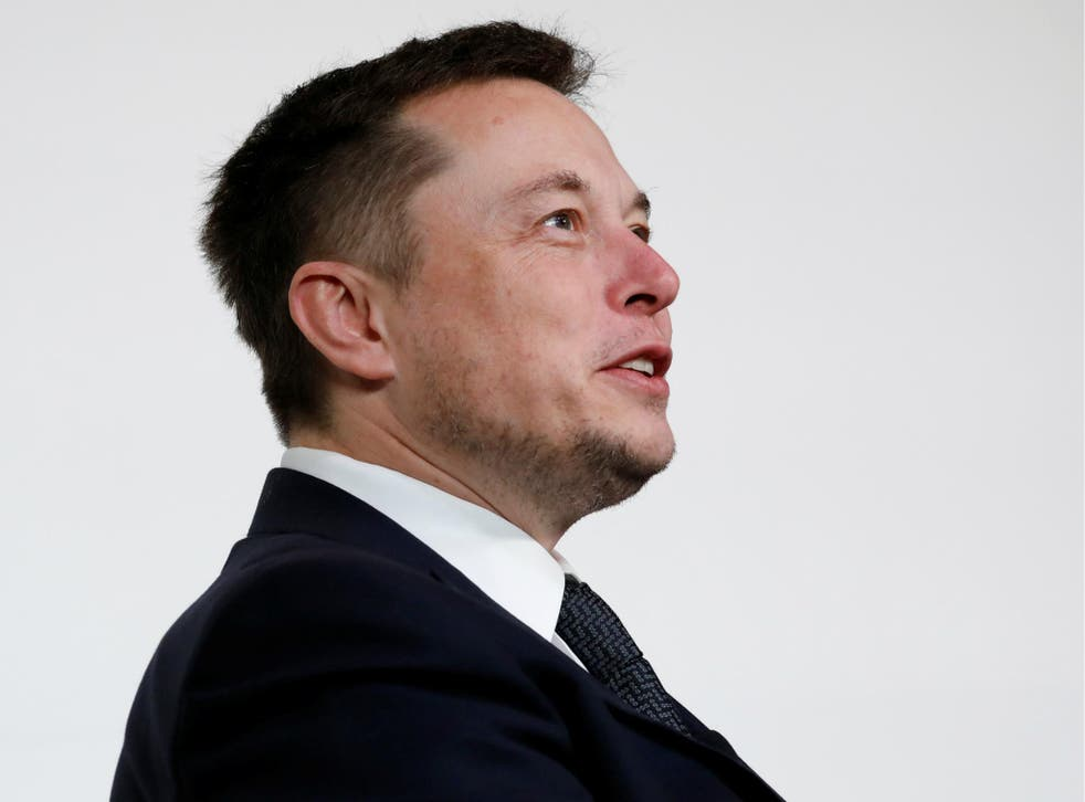 Elon Musk, founder, CEO and lead designer at SpaceX and co-founder of Tesla, speaks at the International Space Station Research and Development Conference in Washington, U.S., July 19, 2017