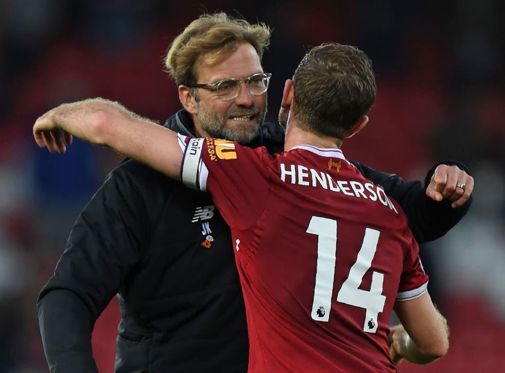 Jurgen Klopp is certain Jordan Henderson is capable of playing as a 'No 6'