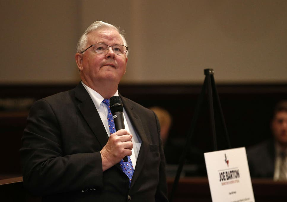 Republican Representative Joe Barton (Photo by Mike Stone/Getty Images)