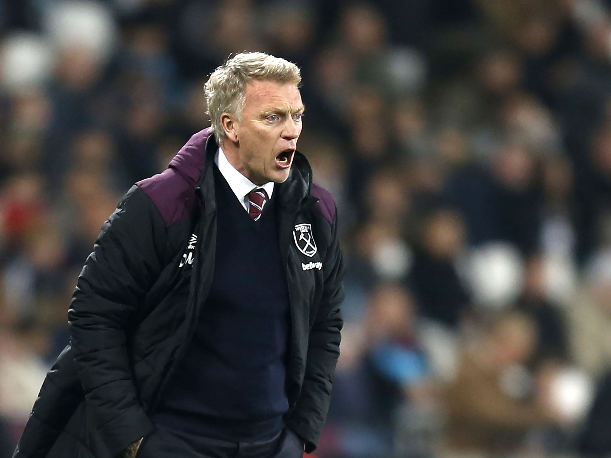David Moyes praises spirited West Ham and home fans after draw with Leicester