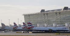 Heathrow security worker arrested in toilet as 7kg of cocaine seized