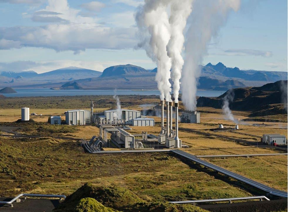 Reykjavik Energy Geothermal Powerplant