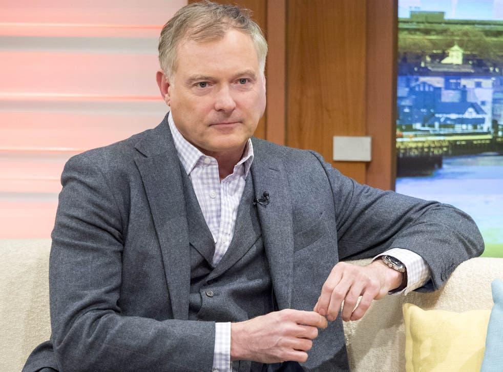 John Leslie on 'Good Morning Britain' in 2016