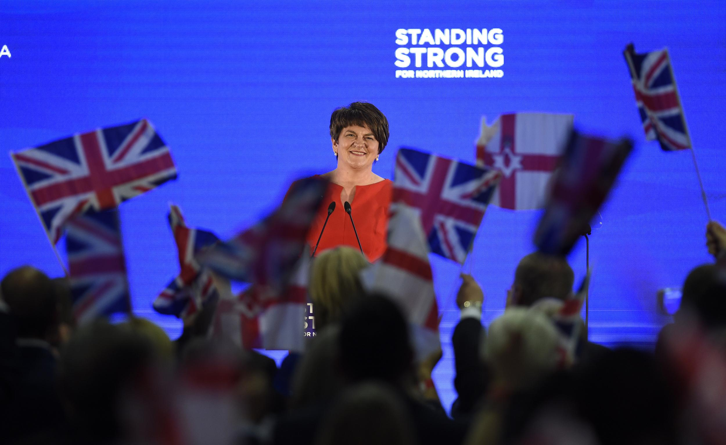 DUP Conference: Ukip may have fallen, but another strange bunch of nationalists have the Tories in their pockets now