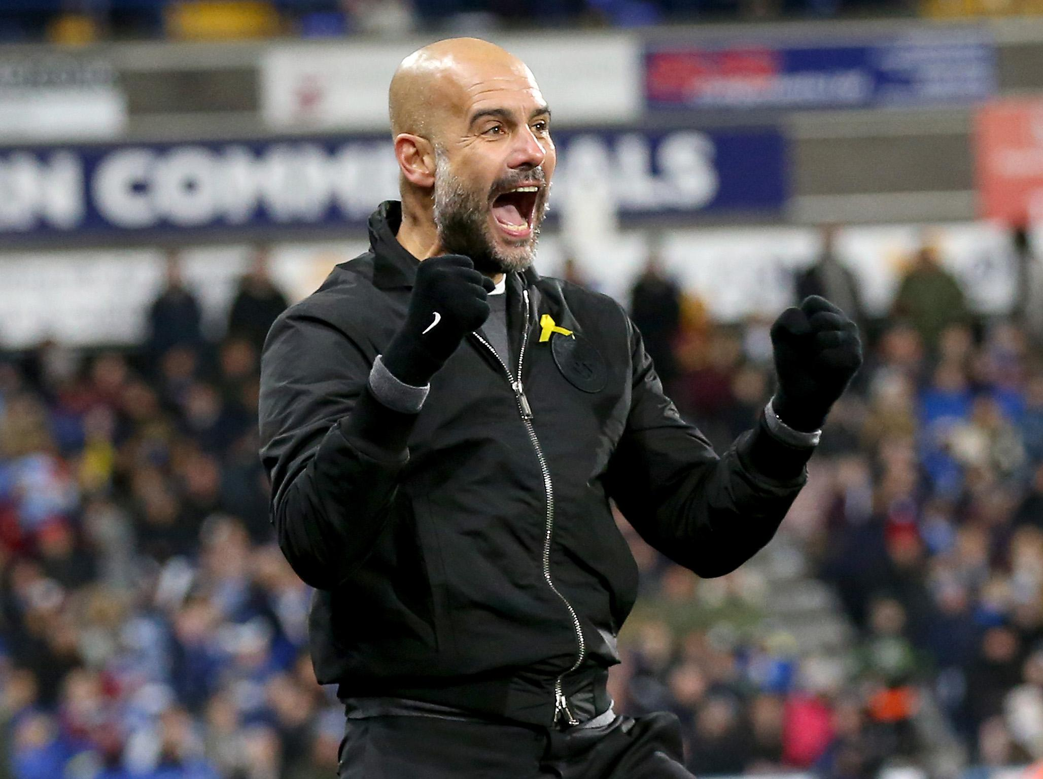 Manchester City's comeback win at Huddersfield Town meant more to Pep Guardiola than their demolitions