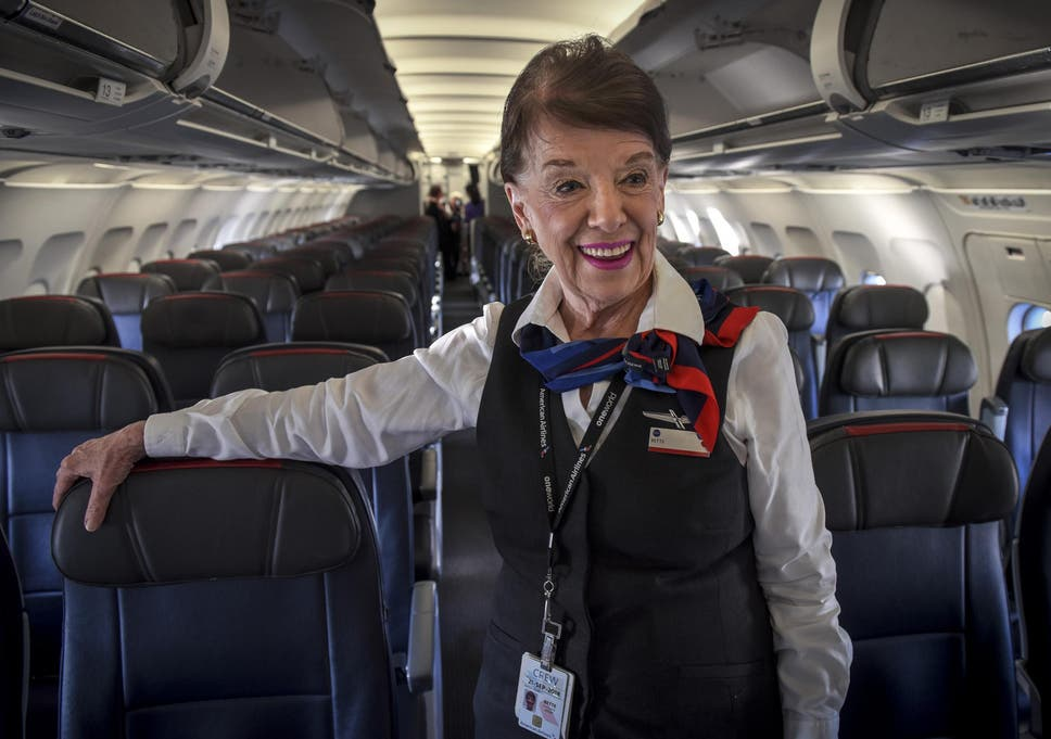 The Woman Whos Spent 60 Years As A Flight Attendant Making The