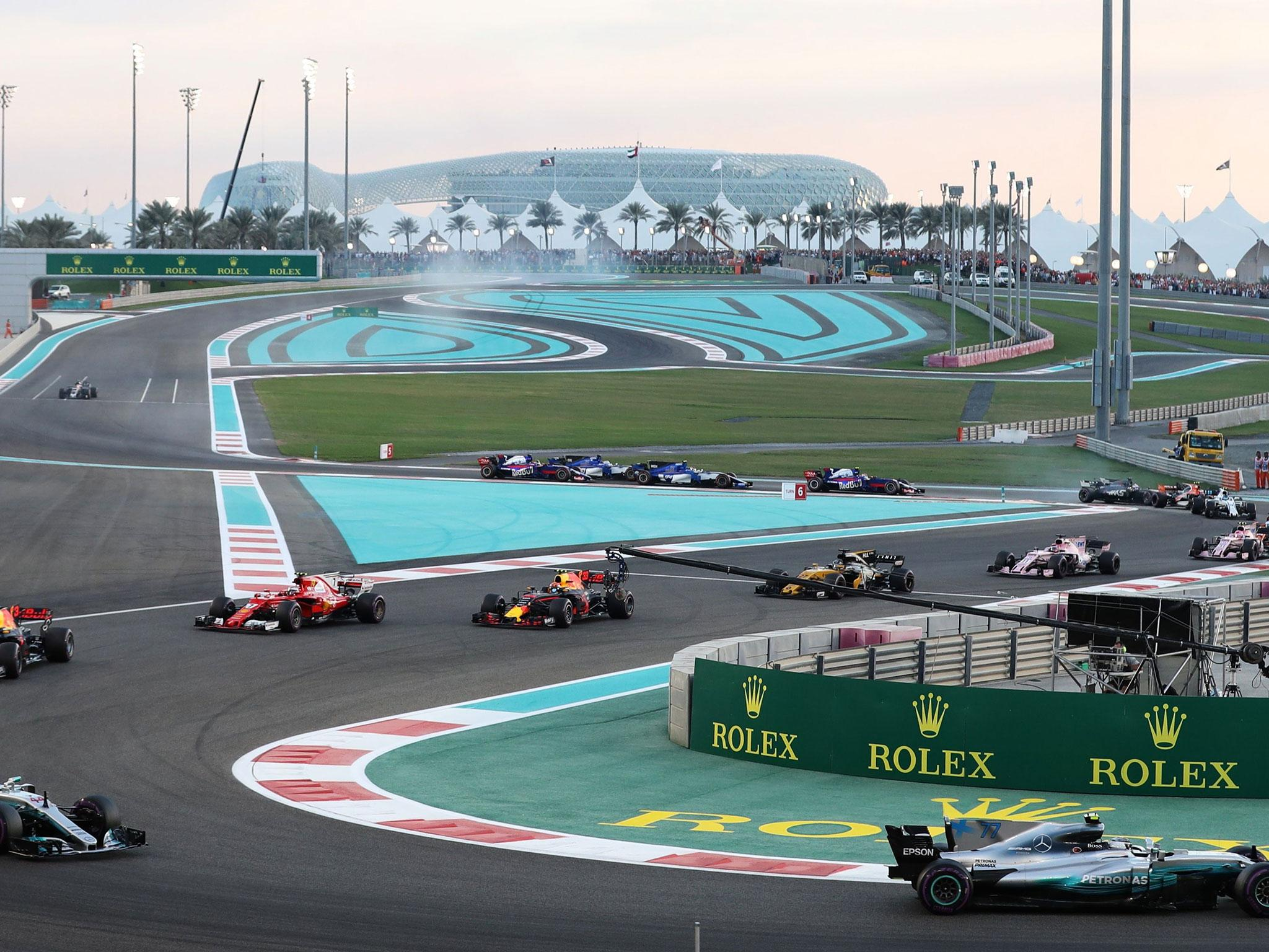 abu dhabi grand prix falls under criticism after finale fails to excite the independent. Black Bedroom Furniture Sets. Home Design Ideas