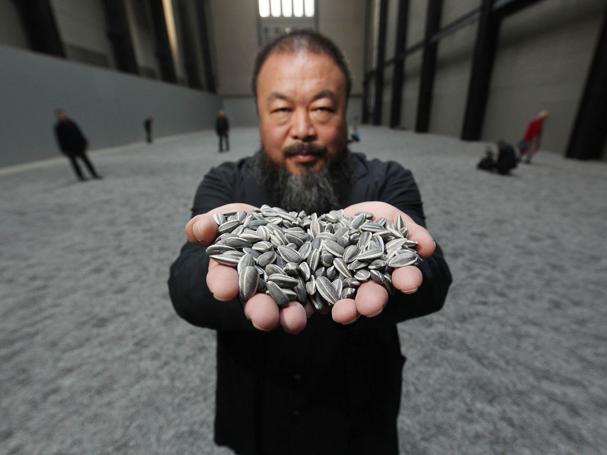 Ai Weiwei offers to buy 30 tonnes of buttons from closing Croydon factory