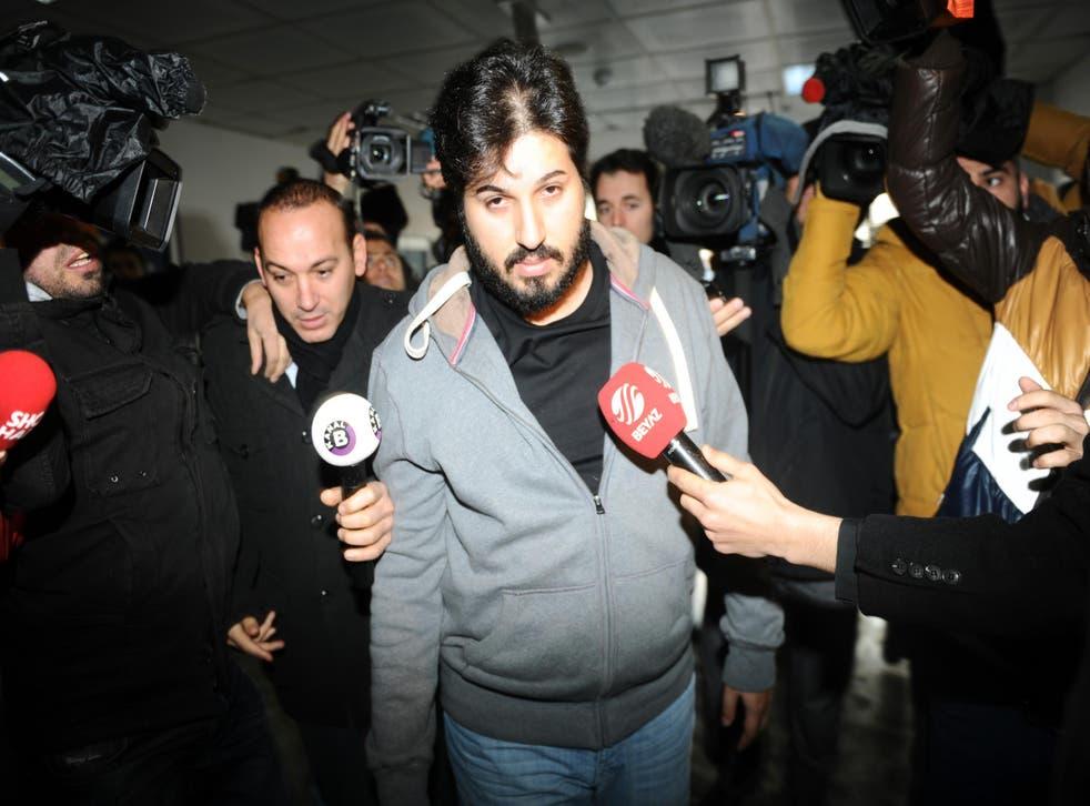 Reza Zarrab has been held in US custody since March 2016