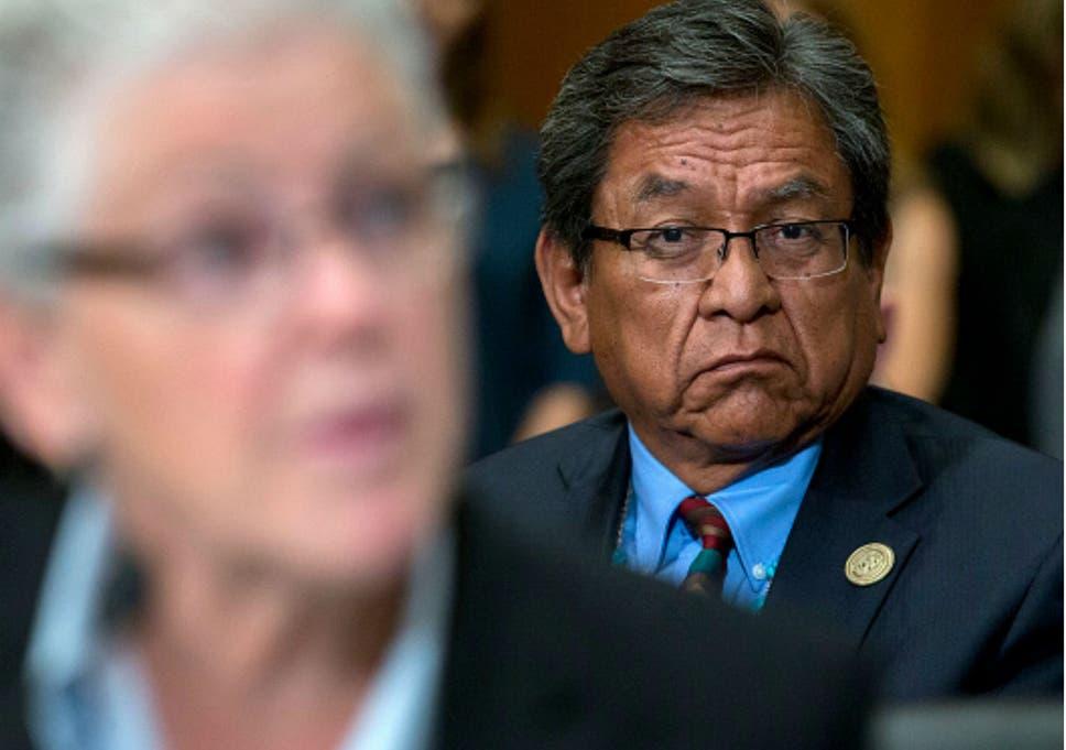 Navajo Nation delegate slams Trump over 'Pocahontas' slur