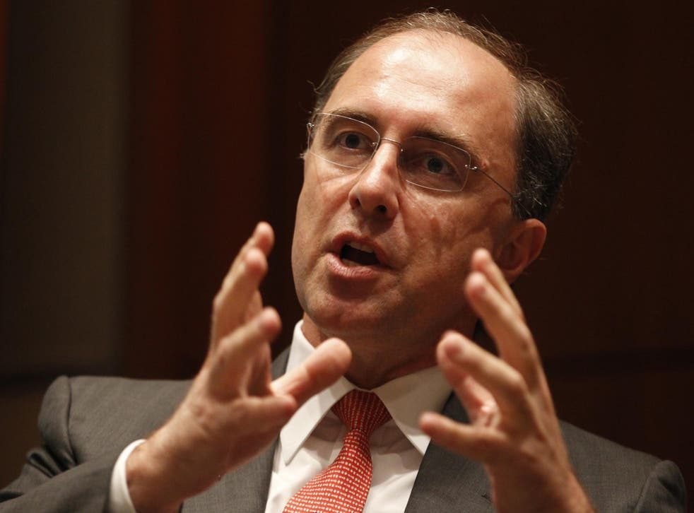 Out with immediate effect: Xavier Rolet, the now former CEO of the London Stock Exchange