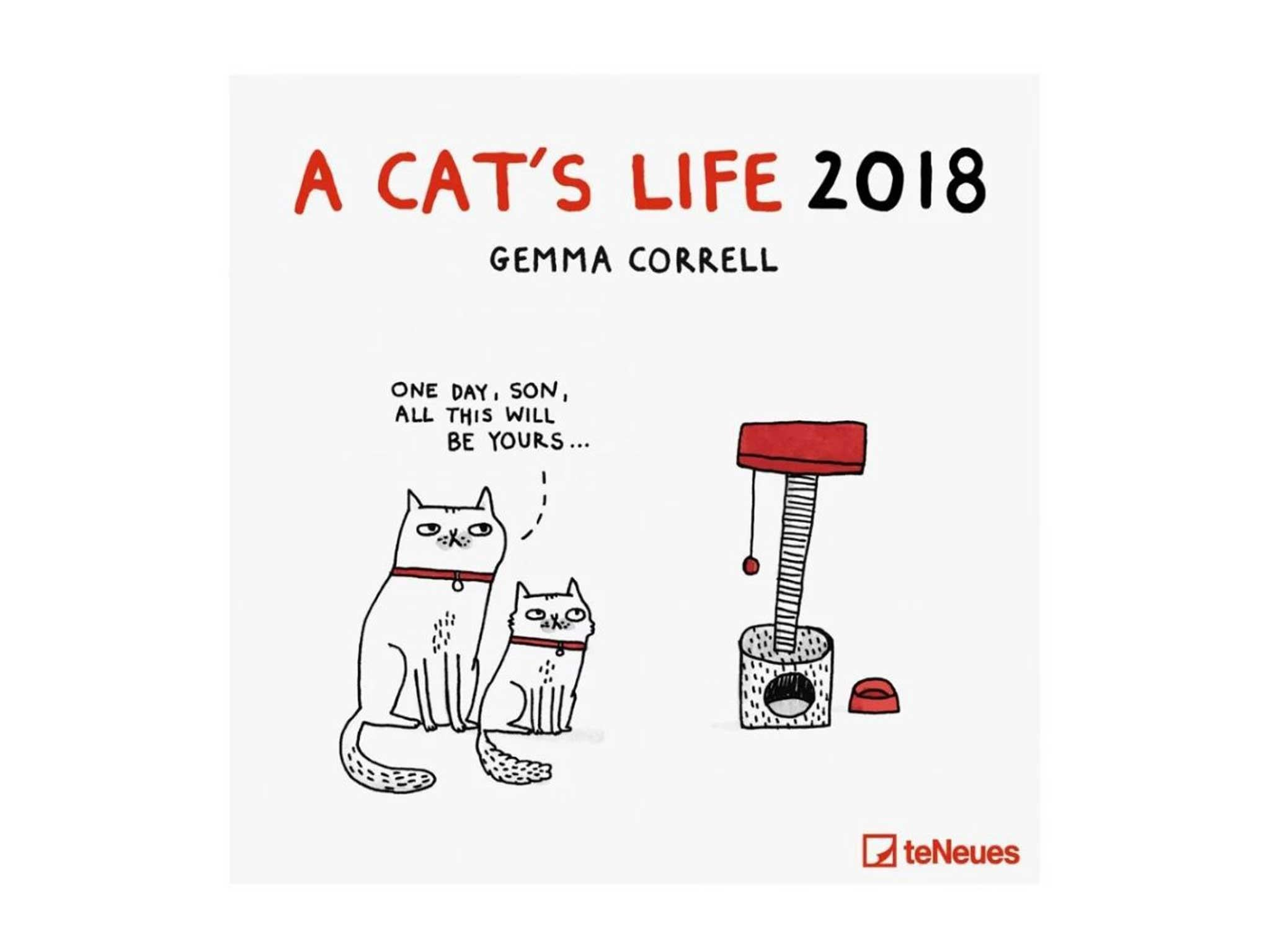 12 Best 2018 Calendars The Independent Science Notebooking Electrical Circuit Boxes And Online Game Love Illustrator