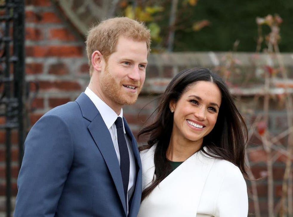 Prince Harry and Meghan Markle are due to marry in May 2018