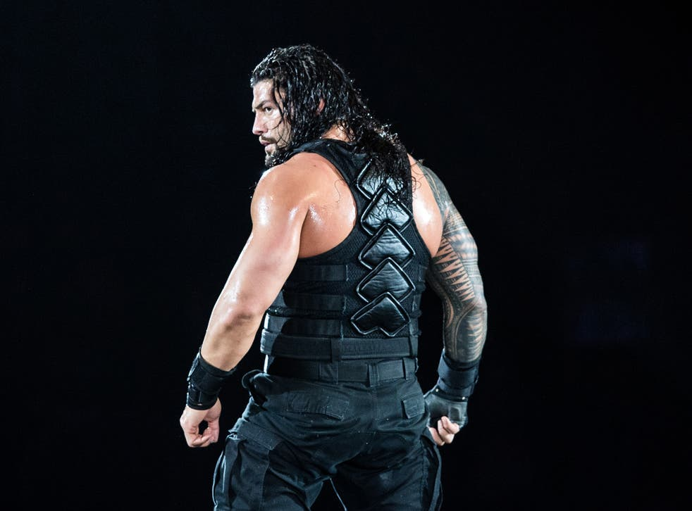 Roman Reigns captured the title from The Miz just last week