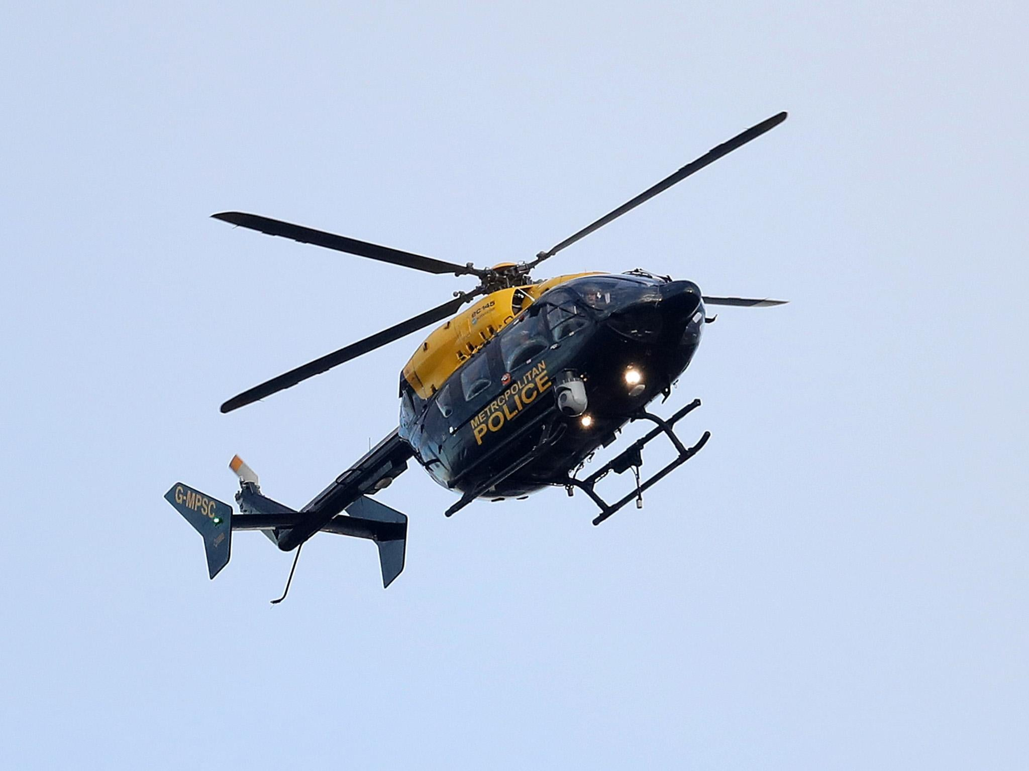 Police not calling helicopters to chase criminals because they cost too much