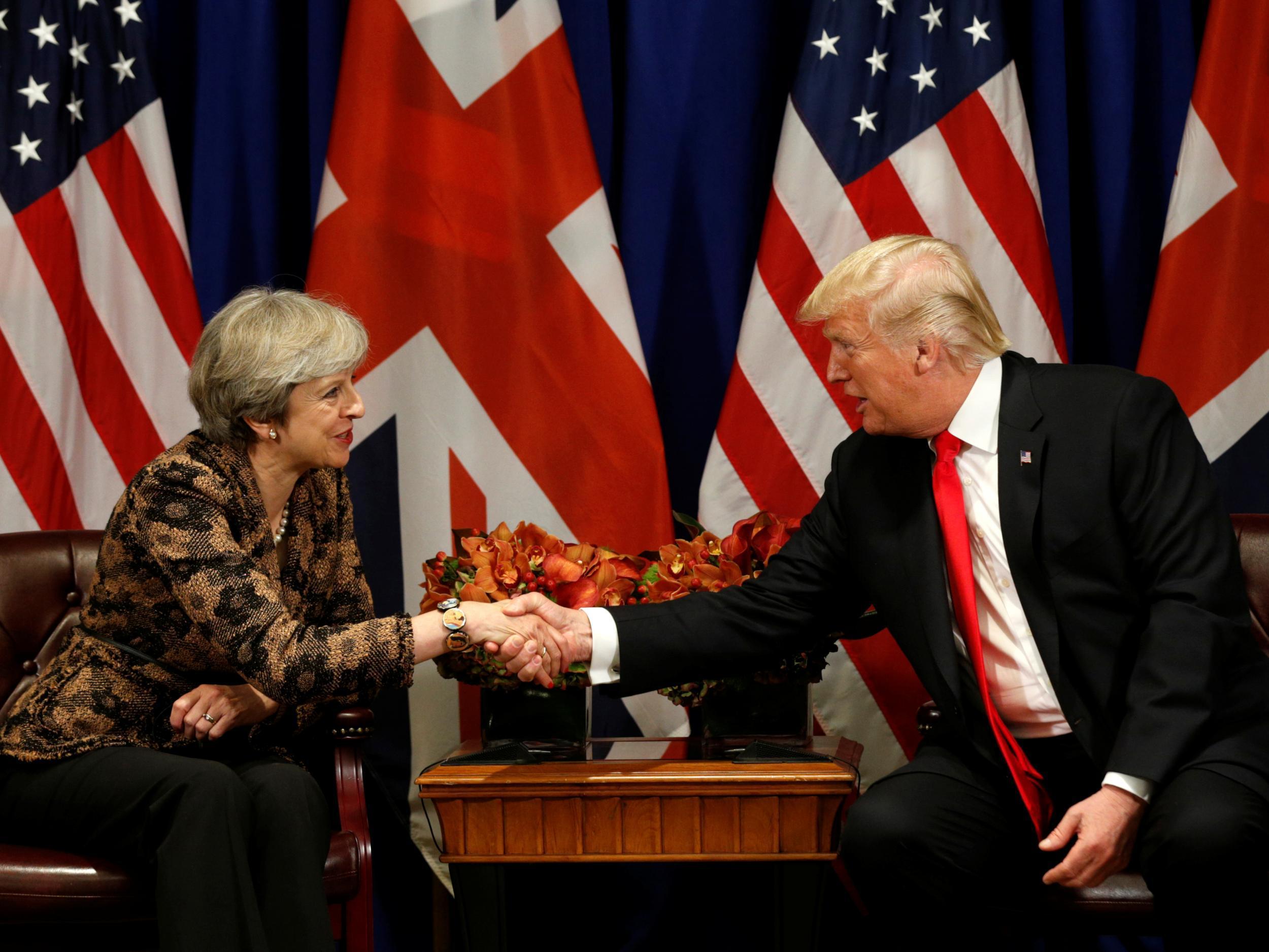 Donald Trump Britain First - live updates: Theresa May ...  Donald Trump Br...