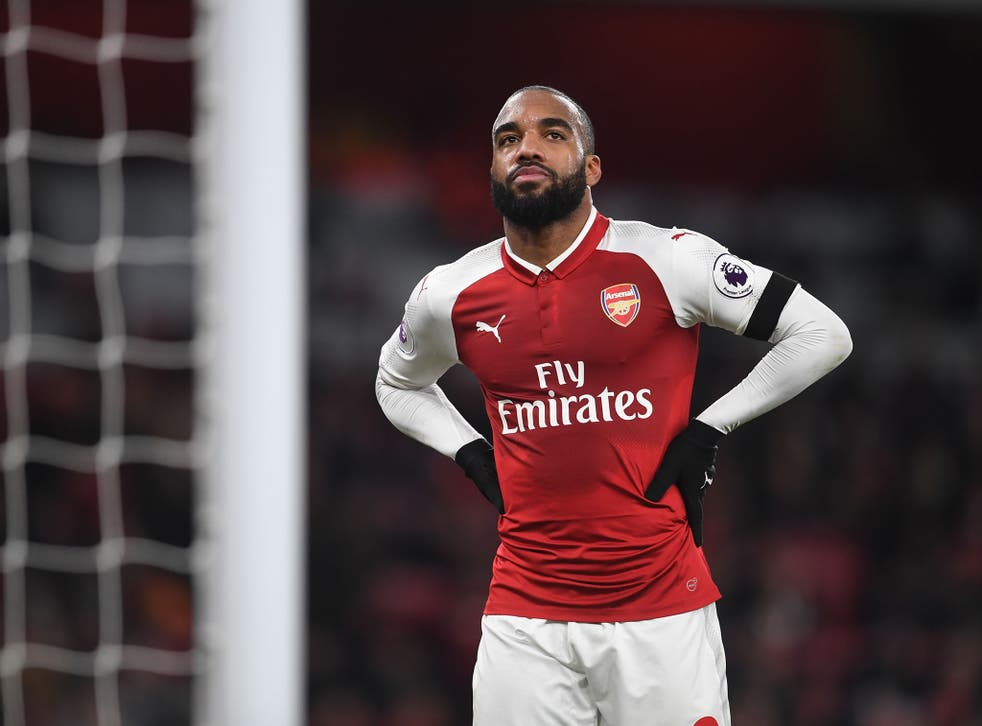 Arsenal striker Alexandre Lacazette has been ruled out of Saturday's match with Manchester United