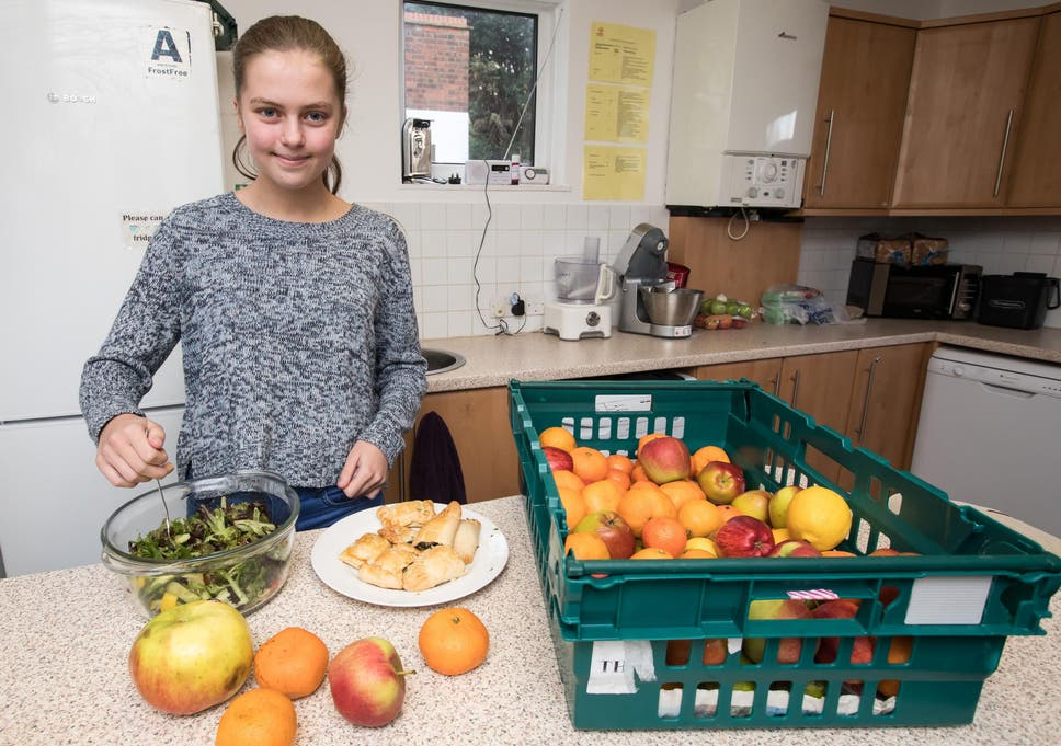 Help a Hungry Child: How a 14-year-old got her life back on