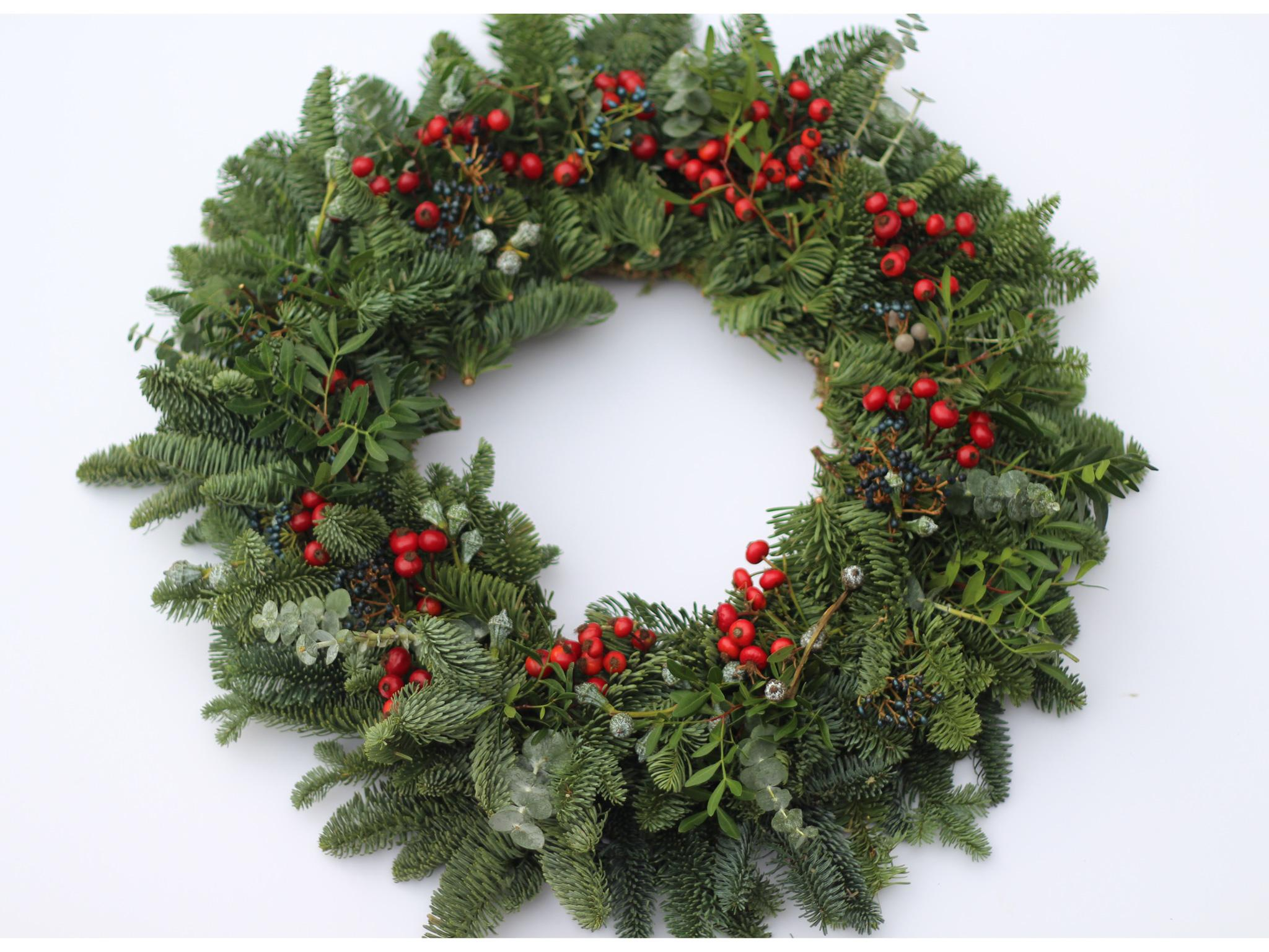 make your own wreaths are all the rage this year we like this one from pop pip because it has simple step by step instructions on its blog and a youtube