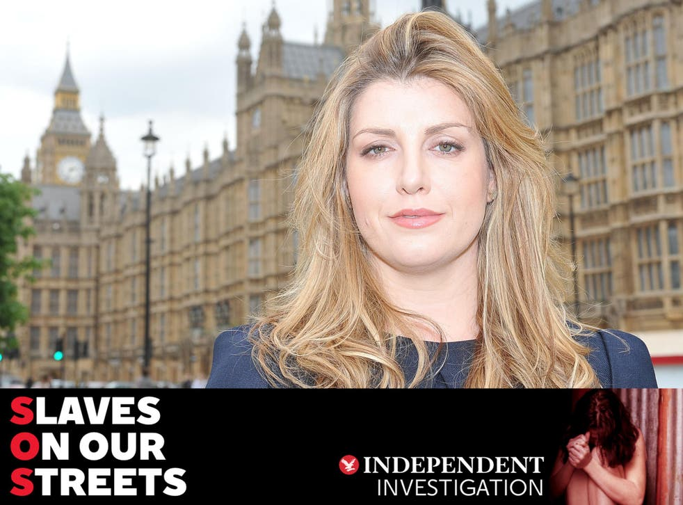 Ahead of the International Day for the Abolition of Slavery on Saturday, Penny Mordaunt says not enough is being done to tackle people-trafficking