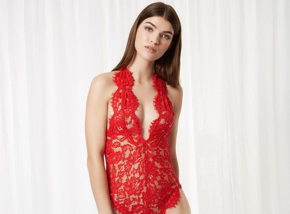 Natalia Body Red, £38, Bluebella