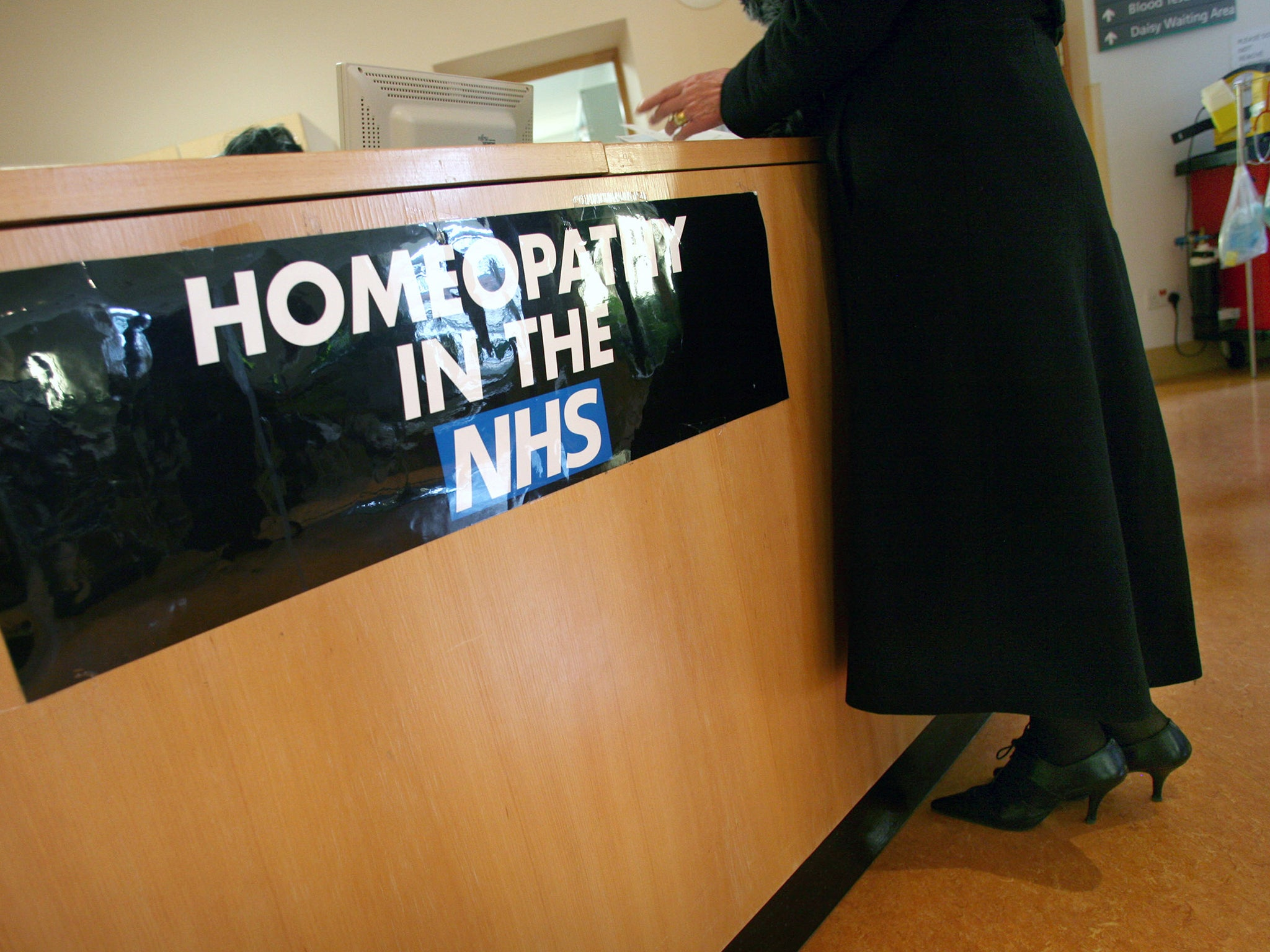 Nhs Tells Jeremy Hunt Homeopathy On Prescription Should Be Home Collection Voucher Map 100000 Bth Blacklisted Because It Doesnt Work The Independent