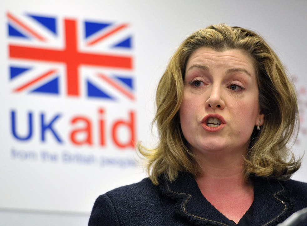 Penny Mordaunt speaks during a ìSolutions to Disability Inclusion event at Microsoft UK