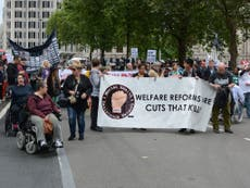 Attempted suicides by disability benefit claimants have doubled