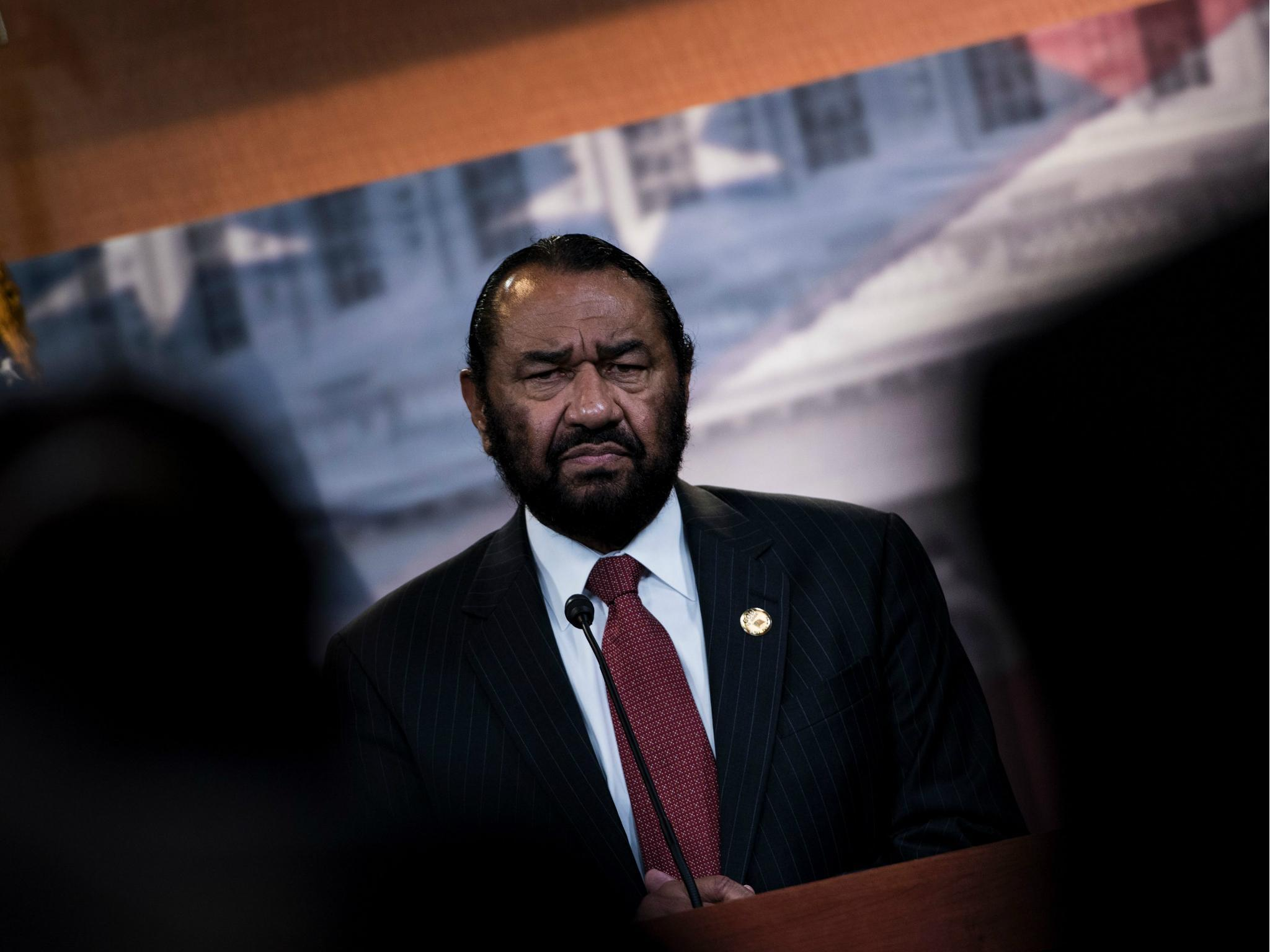 Al Green says Trump's 'harm to society' are new grounds for impeachment