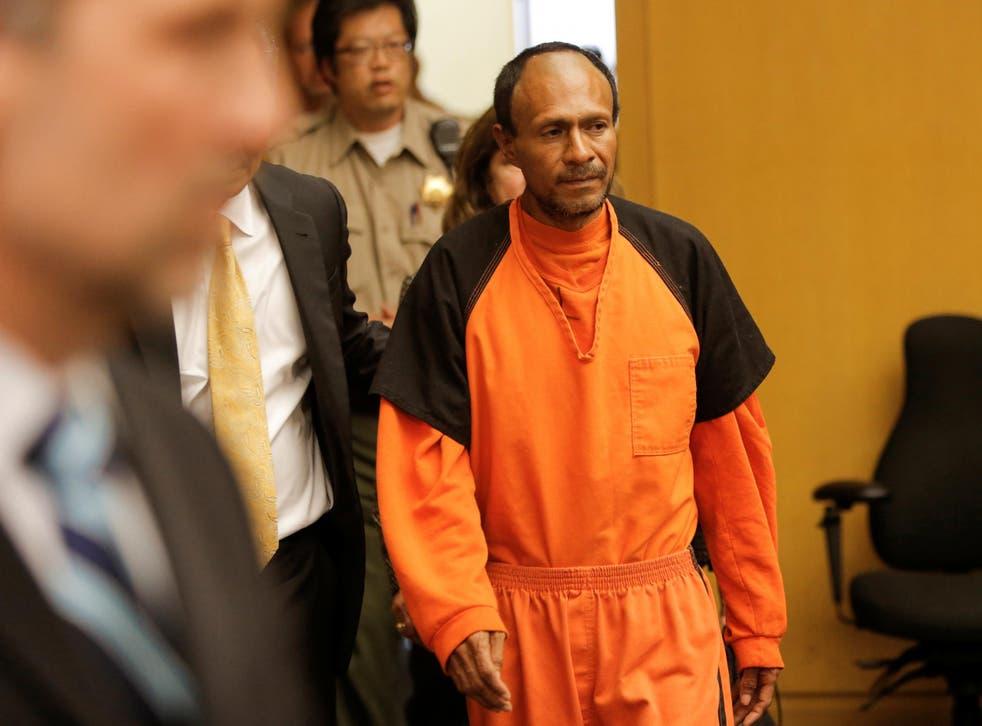 Jose Ines Garcia Zarate was cleared of murder