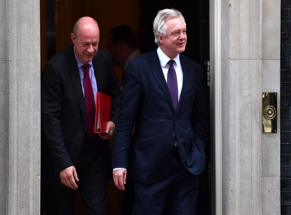 The Brexit Secretary's reported defence of his colleague was immediately ridiculed