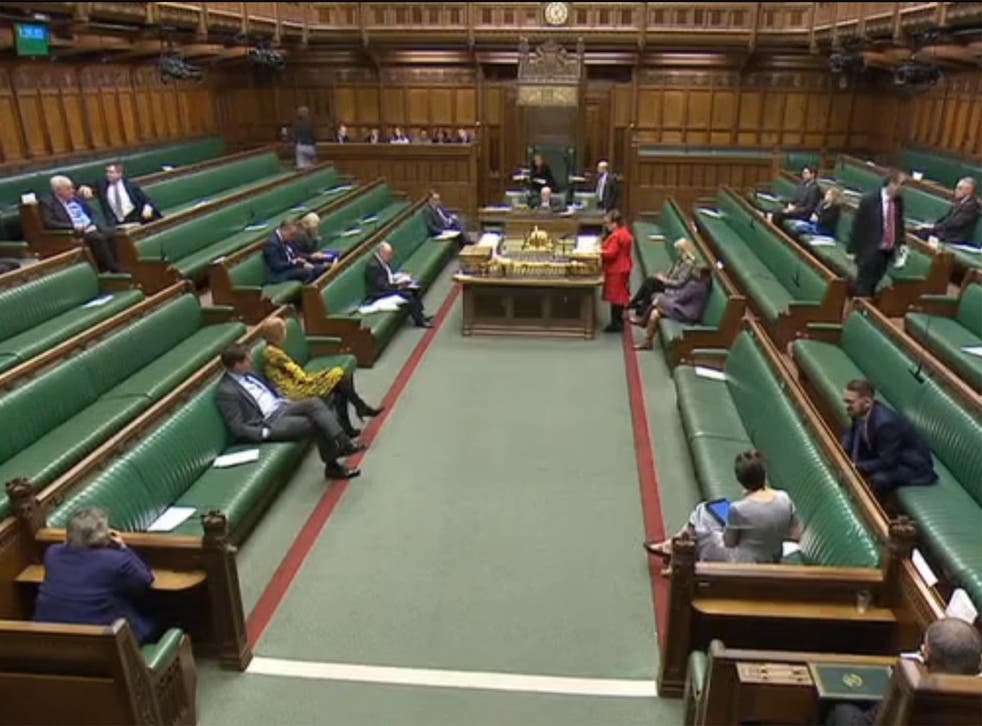 Only around 30 MPs attended the debate on the humanitarian crisis in Yemen