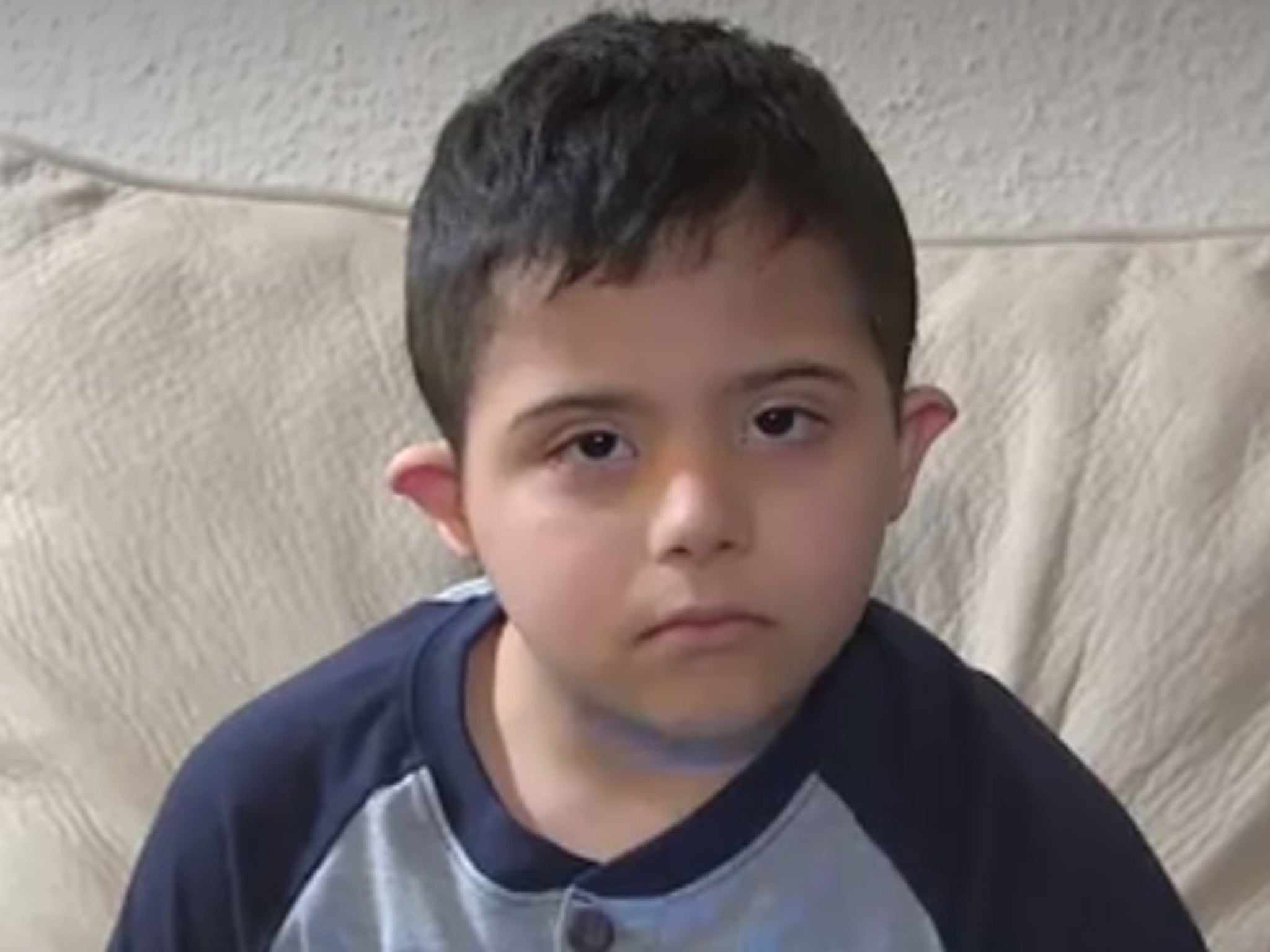 Teacher reports six-year-old Muslim boy with Down's Syndrome