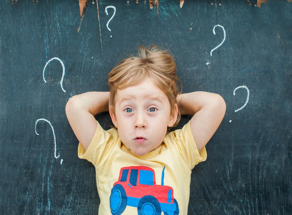 Questioning begins as early as 6am and doesn't stop until bedtime