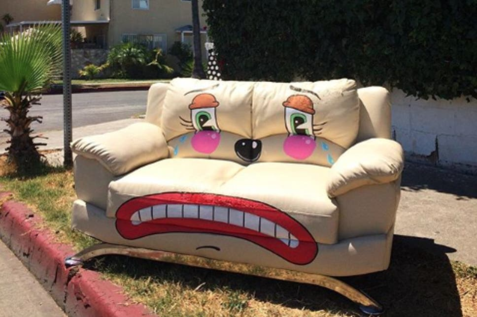 Lonesome Town: Meet The Street Artist Turning Abandoned Furniture Into Sad  Clowns. U0027