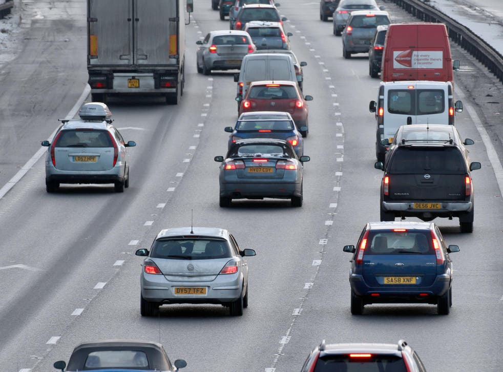 The worst traffic is expected between 4pm and 8pm